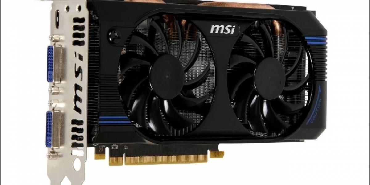 MSI presenta su tarjeta de video N560GTX-SE con overclock de fábrica