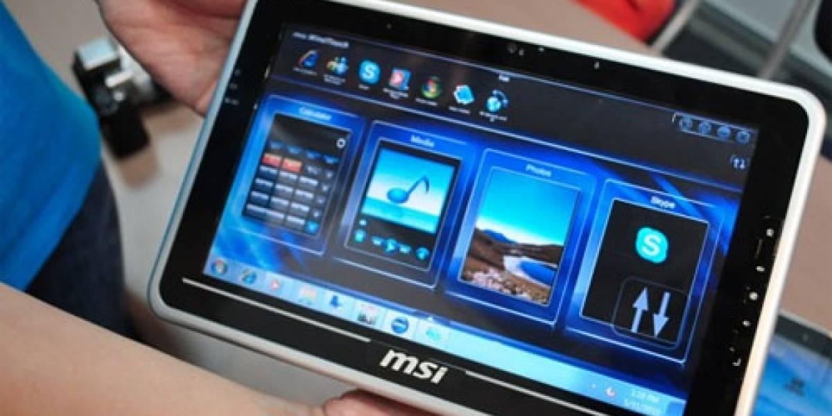 MSI relanzará sus tablets mejorados en CES 2011
