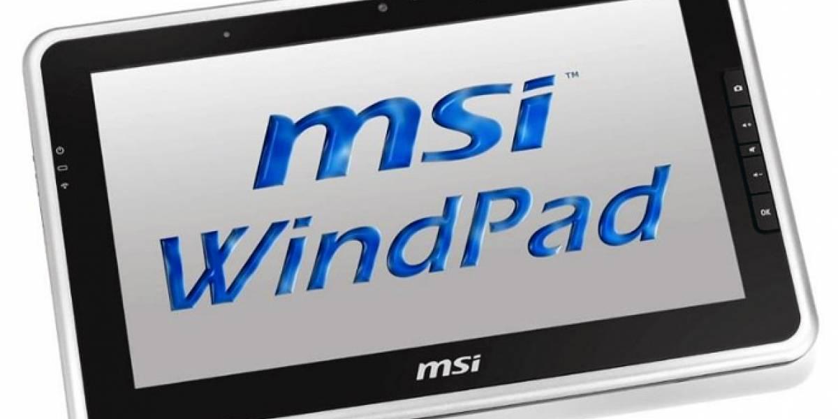 Tablet de MSI con AMD Fusion llega el 1 de Junio