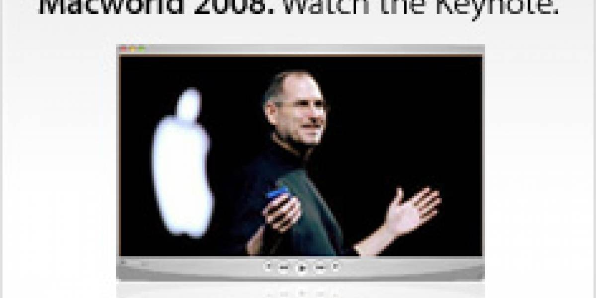 MW08: Disponible Video del Keynote de Steve Jobs