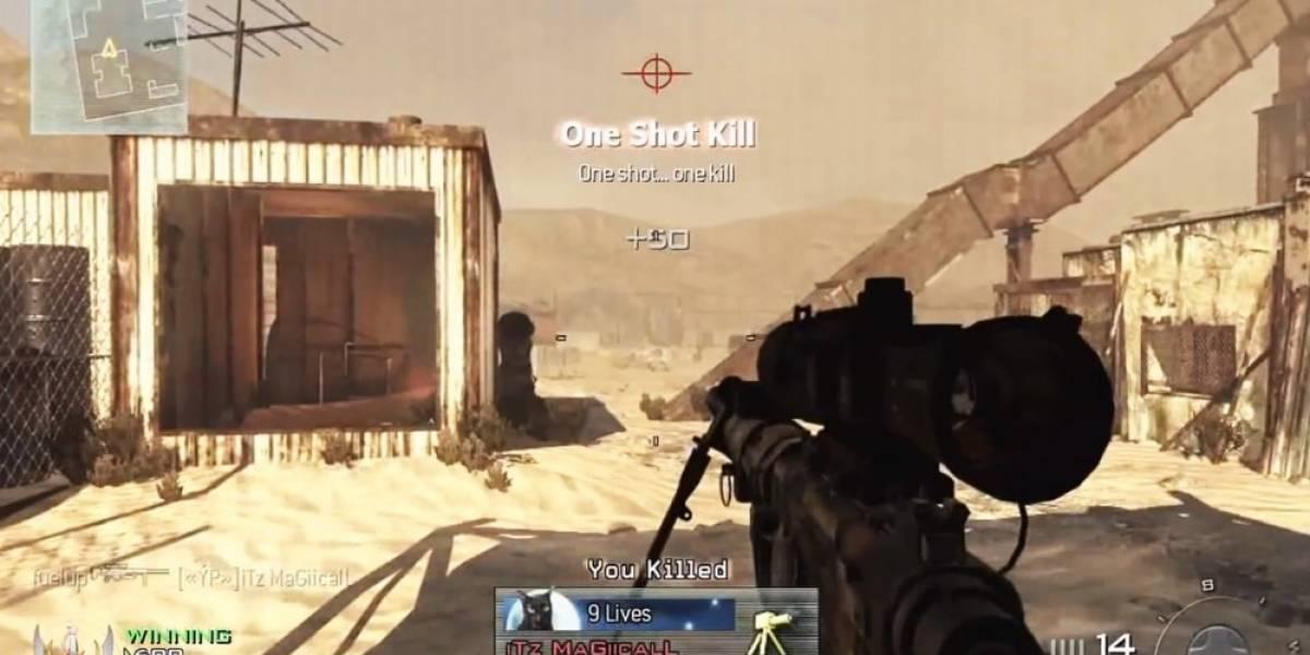 Sledgehammer no quiere quick scope en Call of Duty: Advanced Warfare