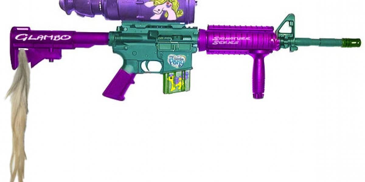 Impresentable: Rifle M41A Pequeño Pony