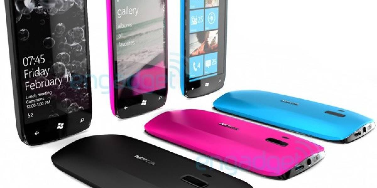 Diseños preliminares de móviles Nokia con Windows Phone 7 ya ven la luz