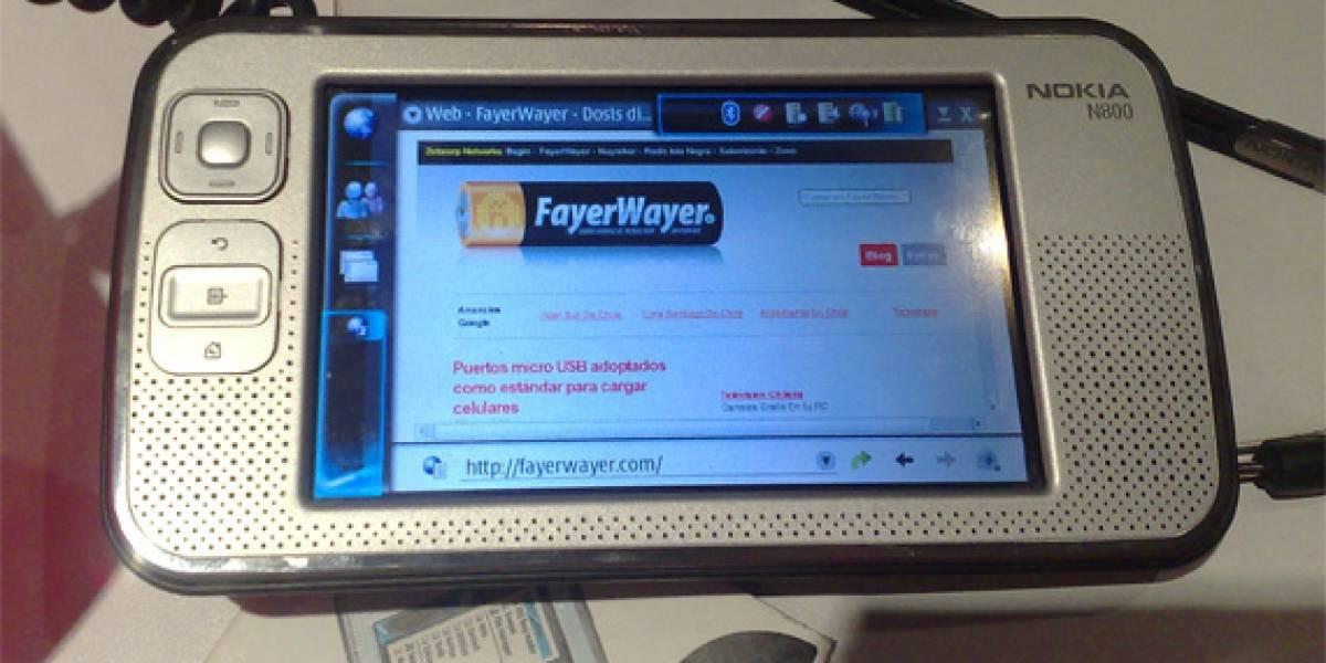 FayerWayer en un Nokia N800