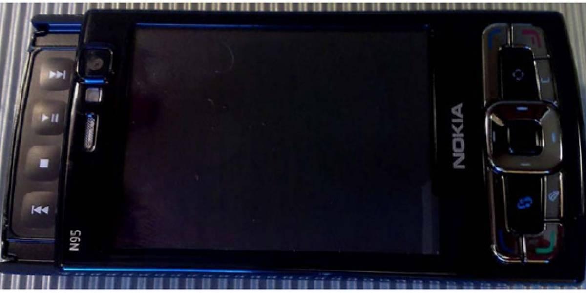 Se viene Nokia N95 negro de 8GB