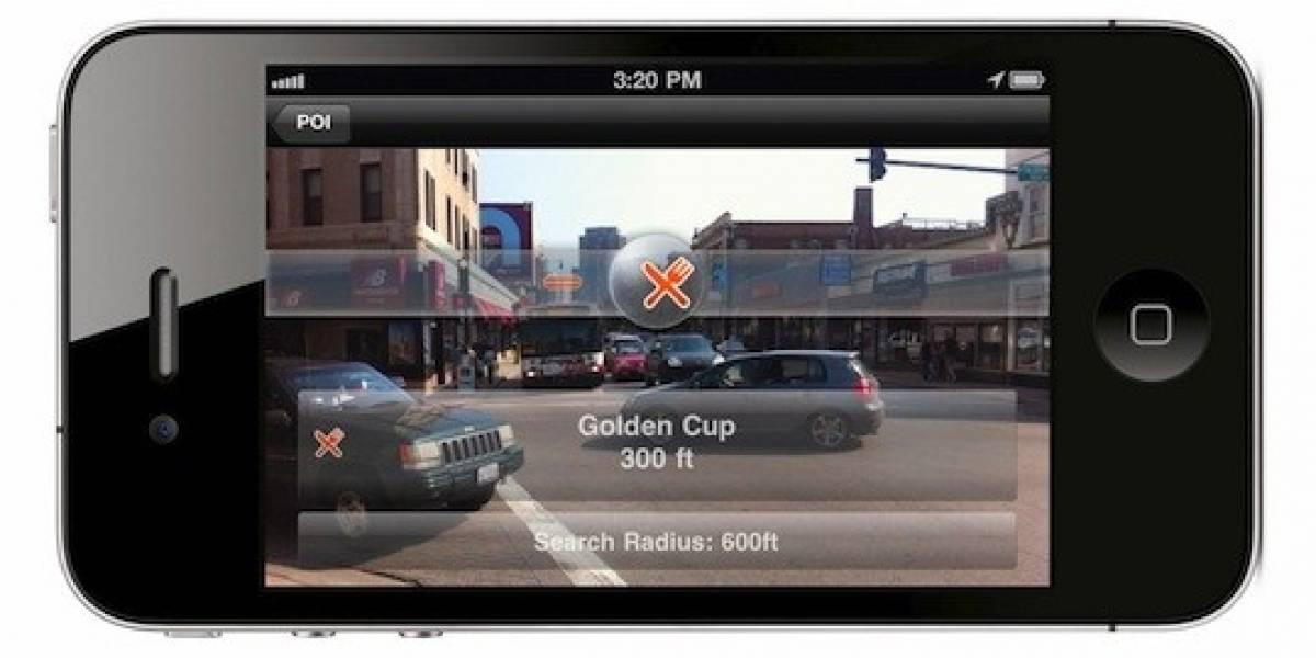 La actualización de Navigon MobileNavigator con realidad aumentada