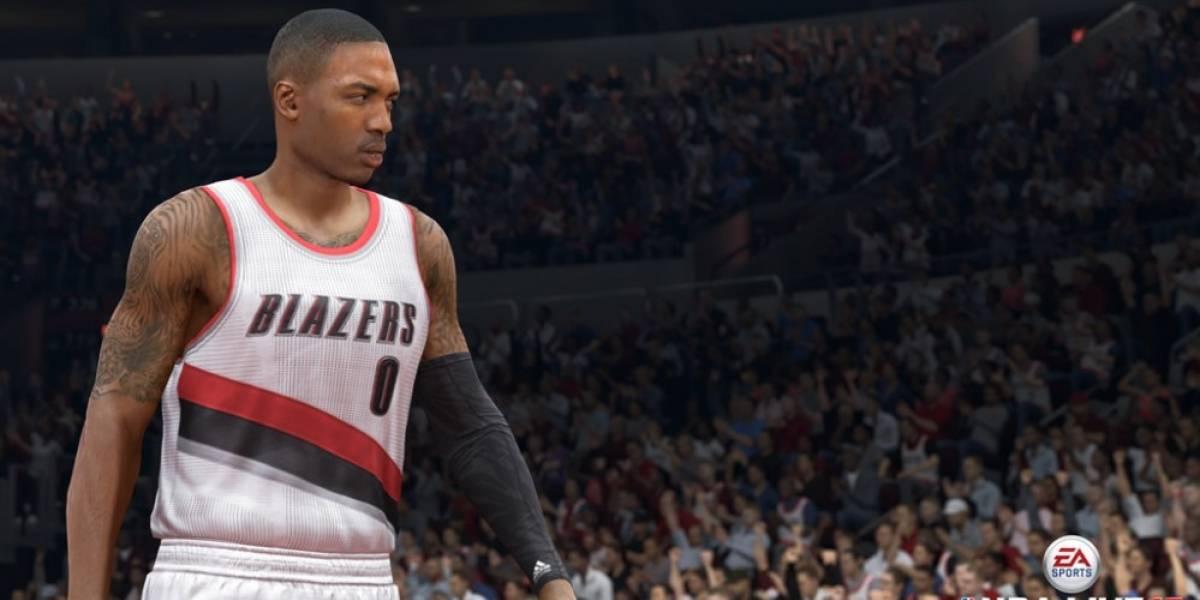 NBA Live 15 muestra su primer tráiler con secuencias de juego