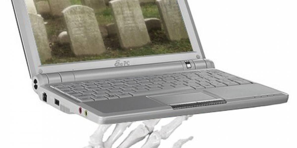 Ventas de Netbooks caen 40%