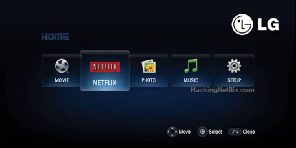 Netflix + LG: Películas desde Internet a tu TV