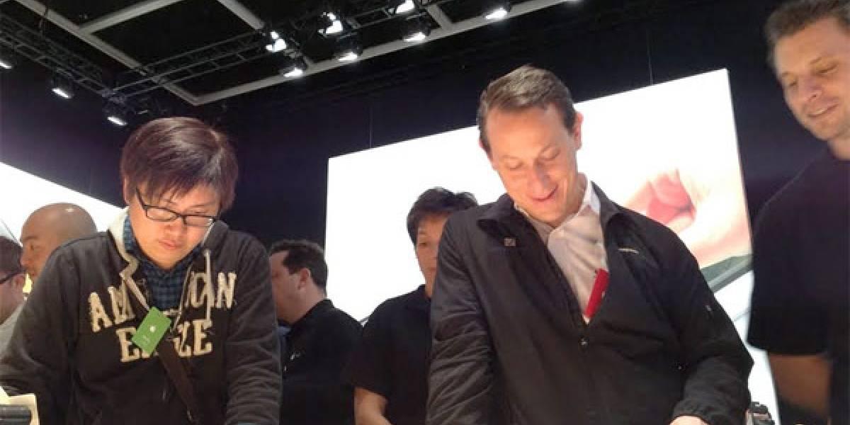 La primera foto tomada con la cámara del nuevo iPad