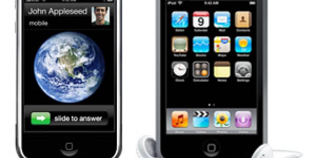 16 GB para el iPhone y 32 GB para el iPod Touch