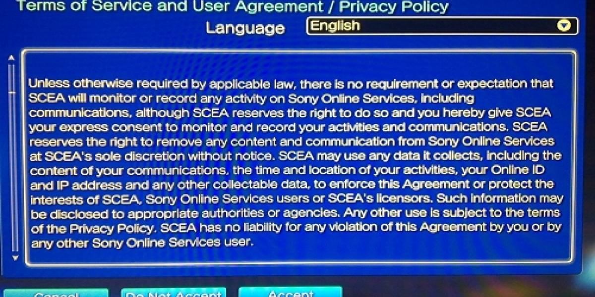 Sony aumenta los datos que puede coleccionar a través de la PSN