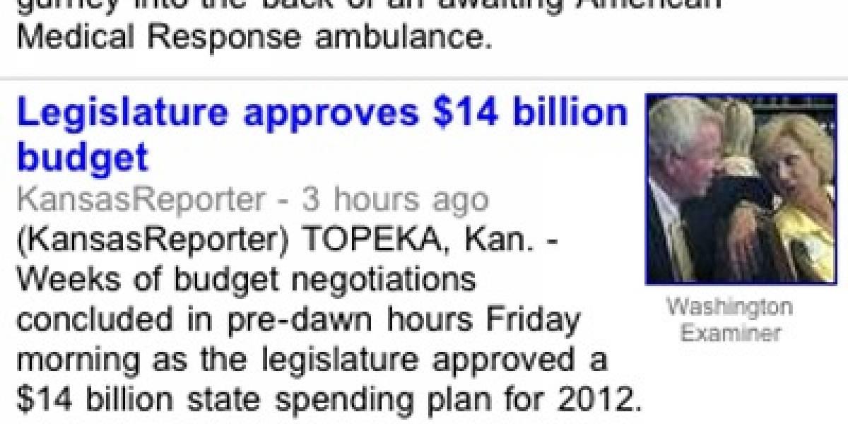 Google News ofrece noticias localizadas según la ubicación del móvil