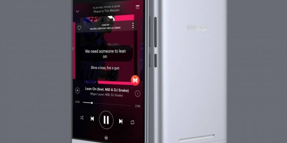 BLU presenta dos smartphones con baterías gigantescas