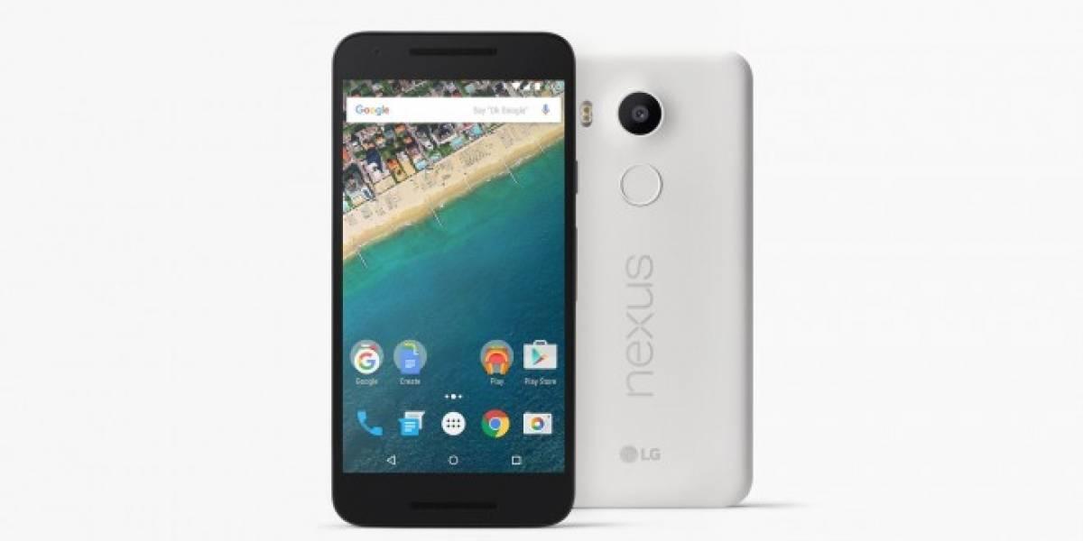 Nexus 5X llegará a España el 9 de noviembre