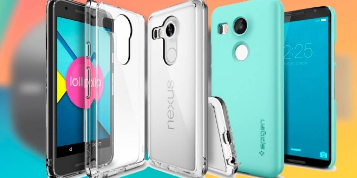 Nexus 5X y Nexus 6P serían los nombres de los nuevos smartphones de Google