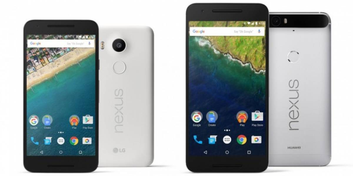 Nexus 6P puede cargar la batería del Nexus 5X mediante USB Tipo-C