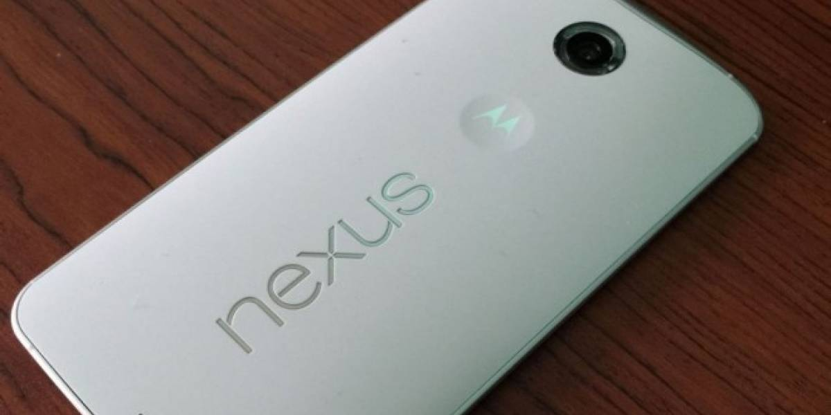 Aparecen fotografías de un Nexus 6 con lector de huellas dactilares