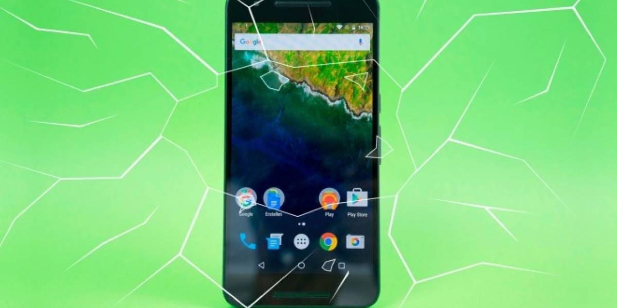 Usuarios de Nexus 6P reportan fracturas en cristal de cámara trasera