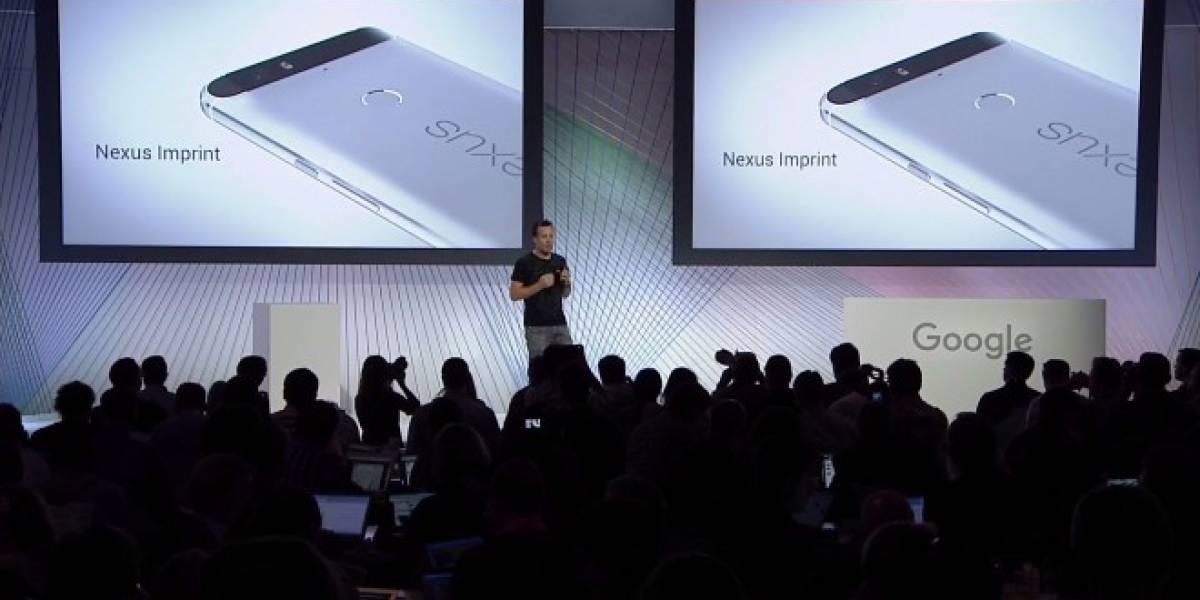 Google presenta oficialmente a su nuevo Nexus 6P