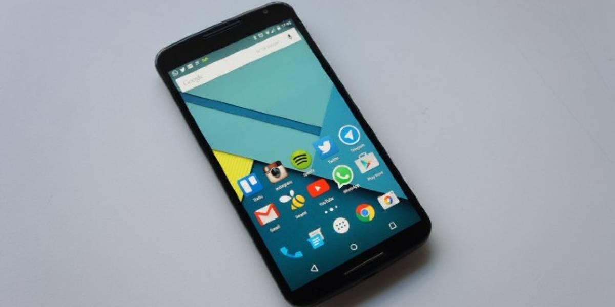 Algunos Nexus 6 presentan problemas al actualizarse a Android 5.1 Lollipop