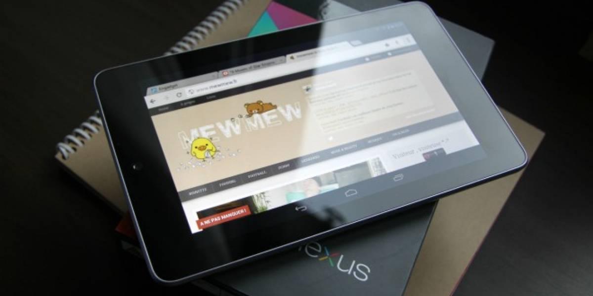 Huawei fabricaría la próxima tablet Nexus 7