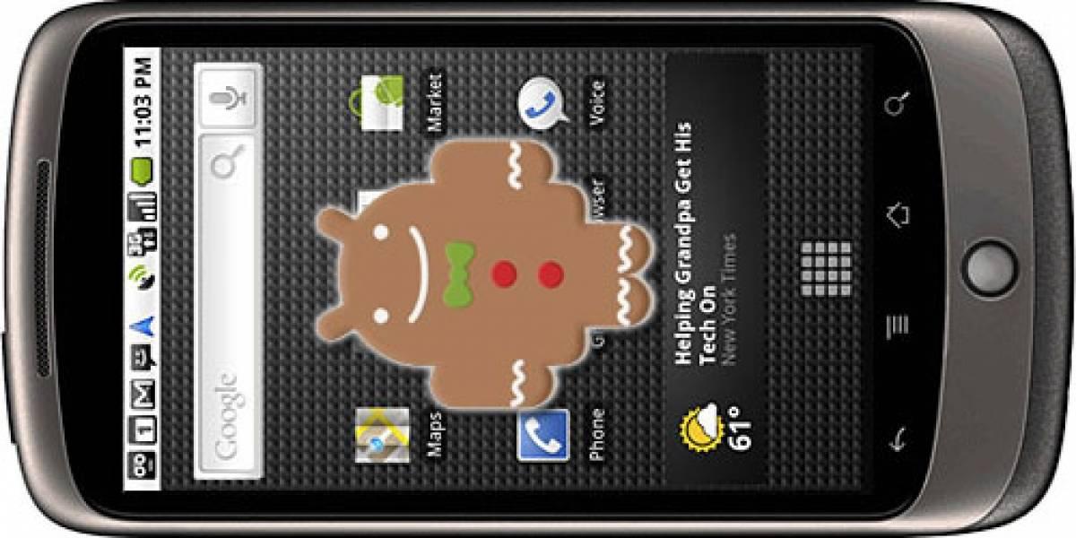El Nexus One obtendrá actualización a Gingerbread