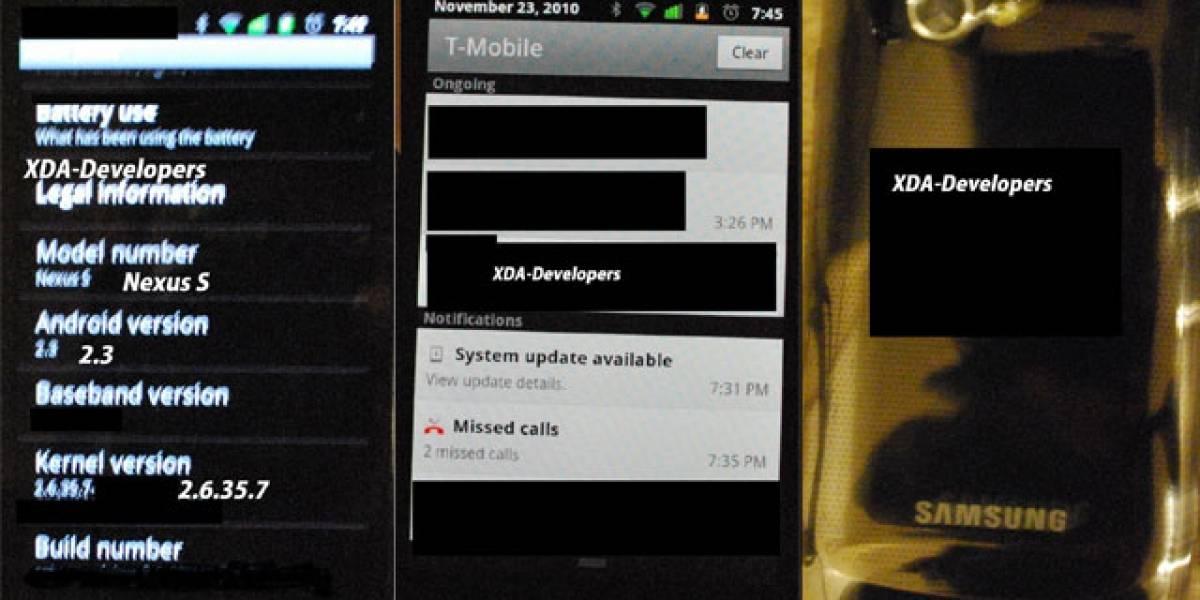 Descubren un Nexus S corriendo Android 2.3