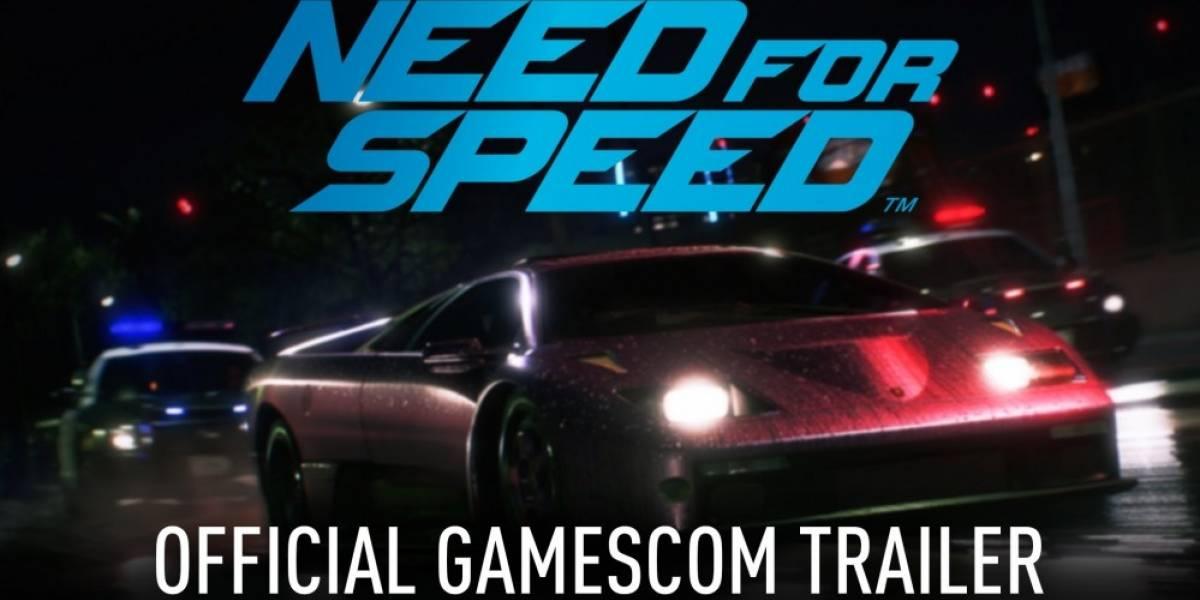Need for Speed también recibe tráiler #gamescom2015