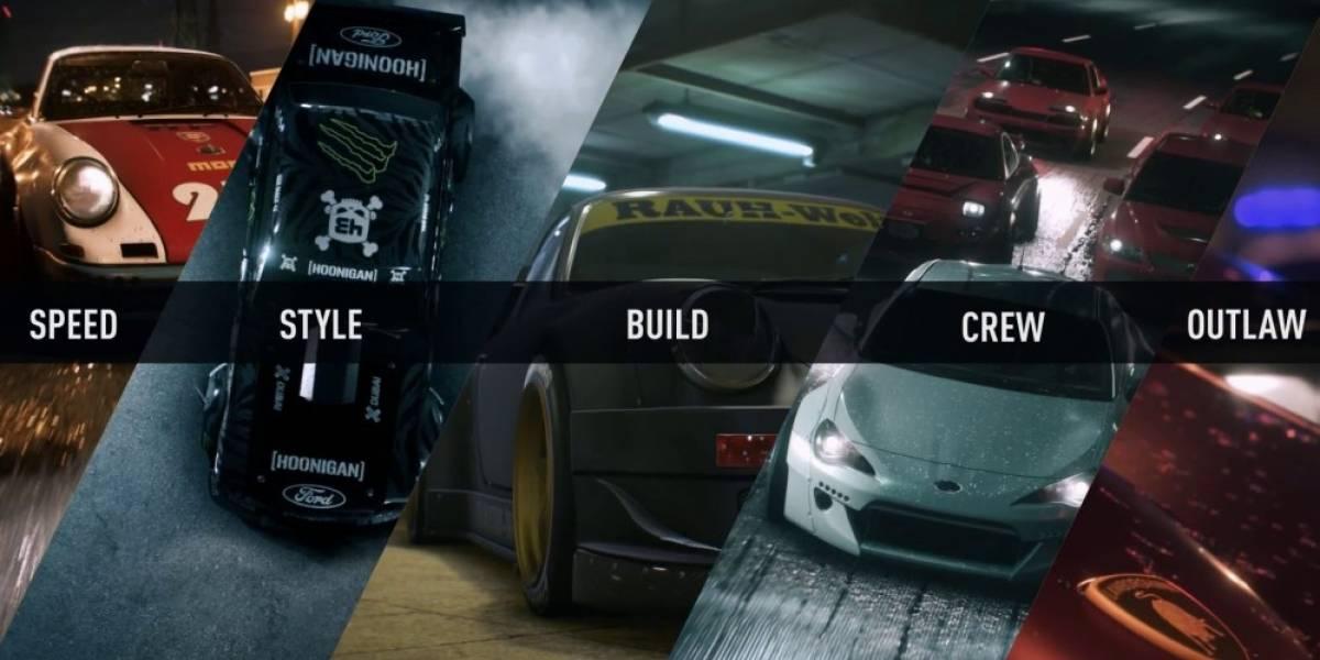 Need for Speed tiene nuevo tráiler que nos muestra cinco diferentes formas de jugar