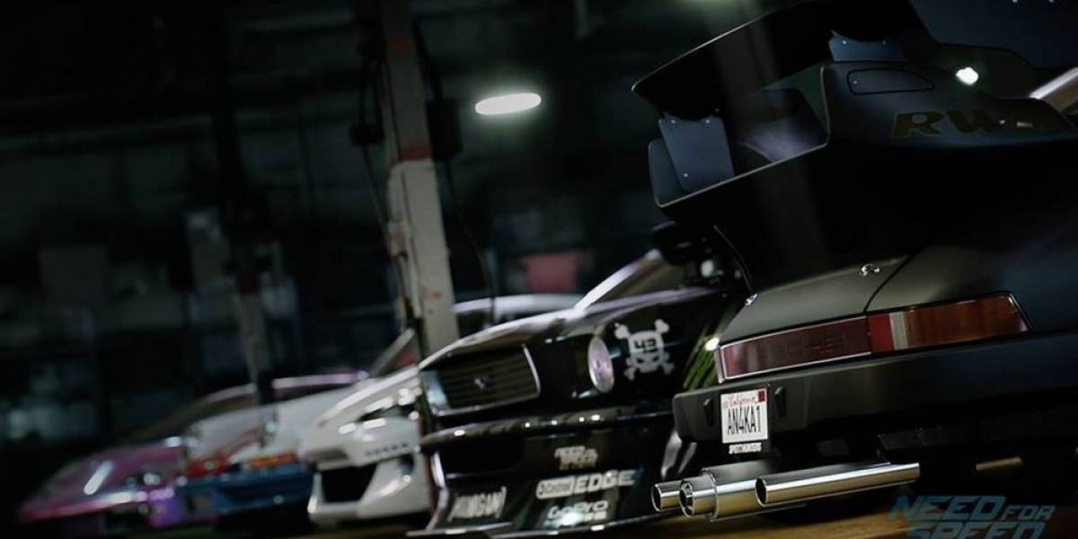 Estos son algunos de los autos incluidos en Need for Speed
