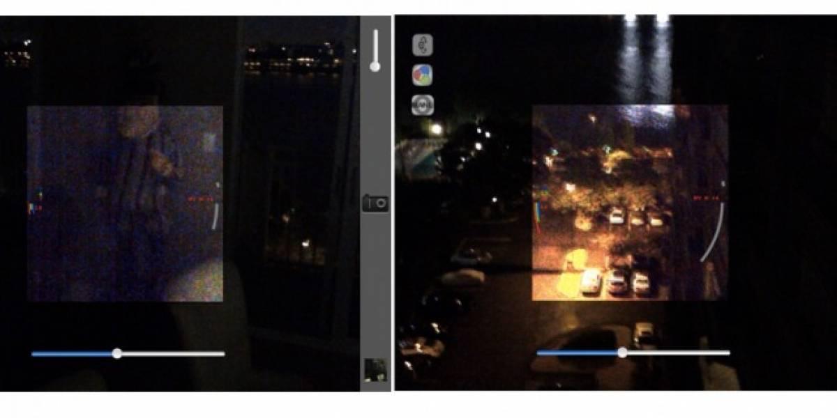 NightCam+HD promete tomar imágenes en plena oscuridad