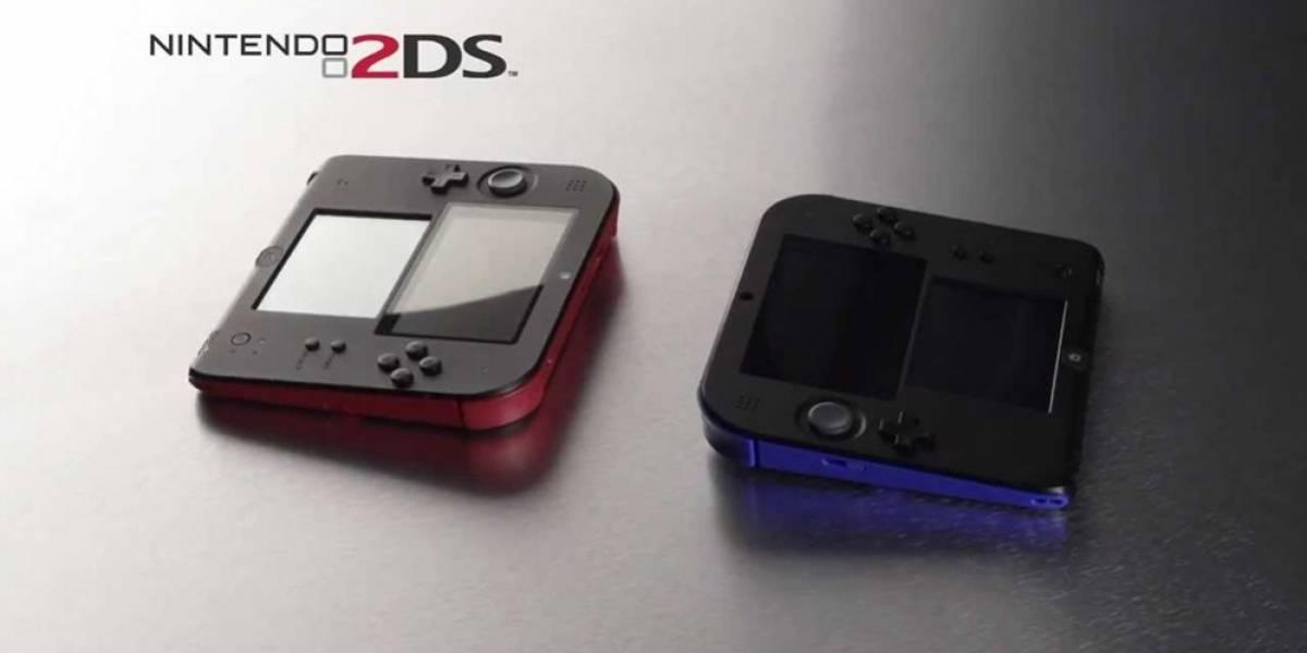 Nintendo reduce el precio de la portátil 2DS en Norteamérica