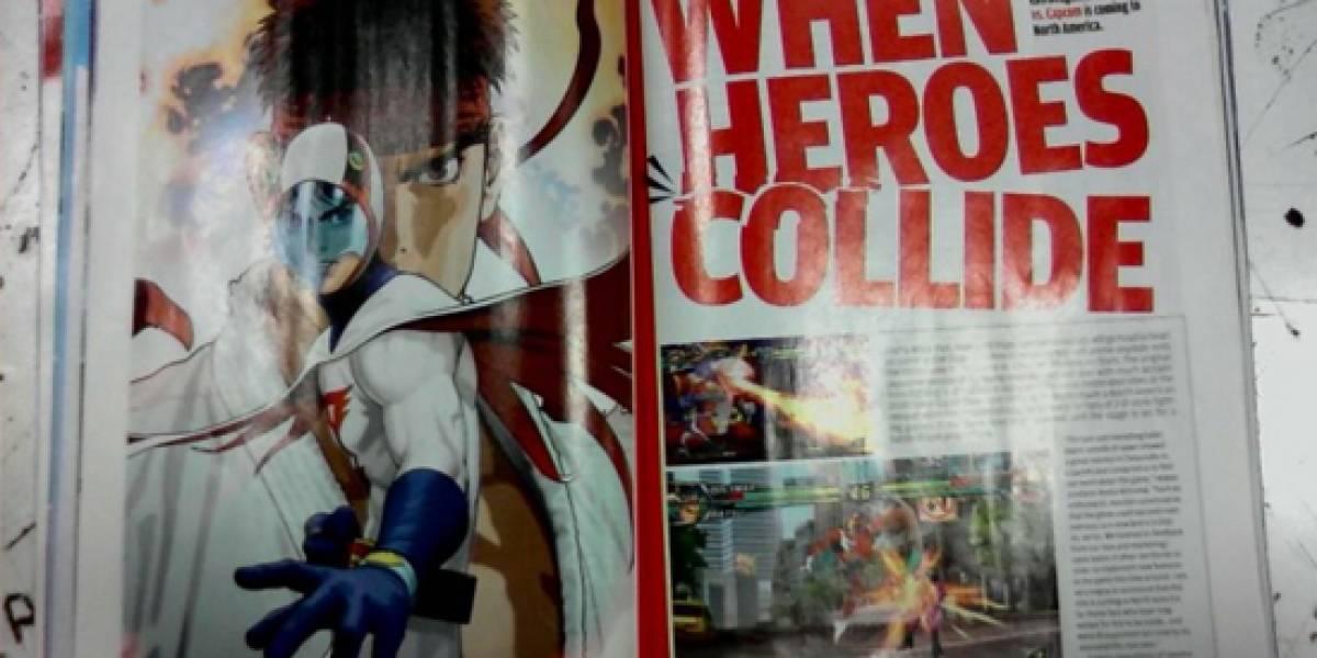 Tatsunoko vs. Capcom llegará a Norteamérica