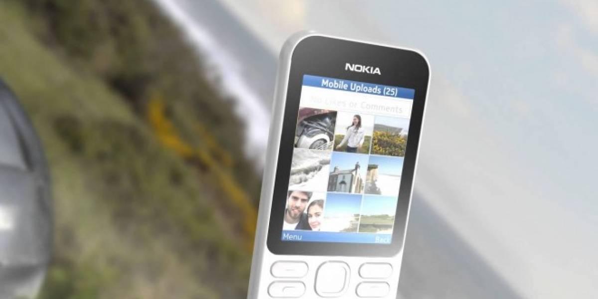 Nokia 222, un nuevo teléfono al estilo clásico listo para internet