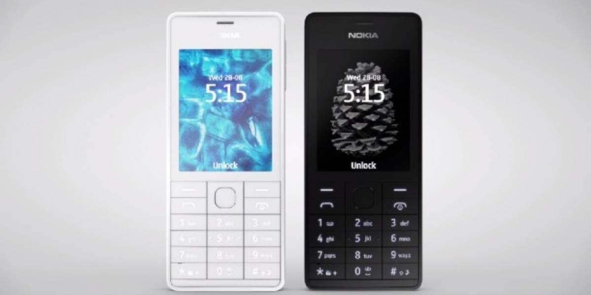 Nokia lanza un nuevo equipo básico, el 515