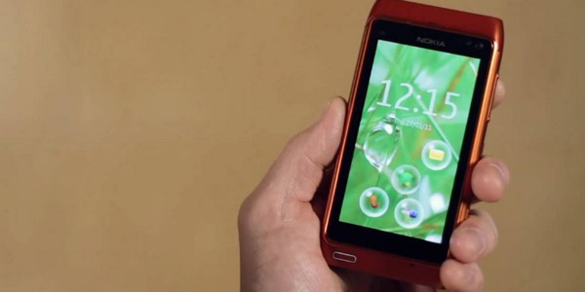 Nokia Bubbles, una forma novedosa de desbloquear tu N8