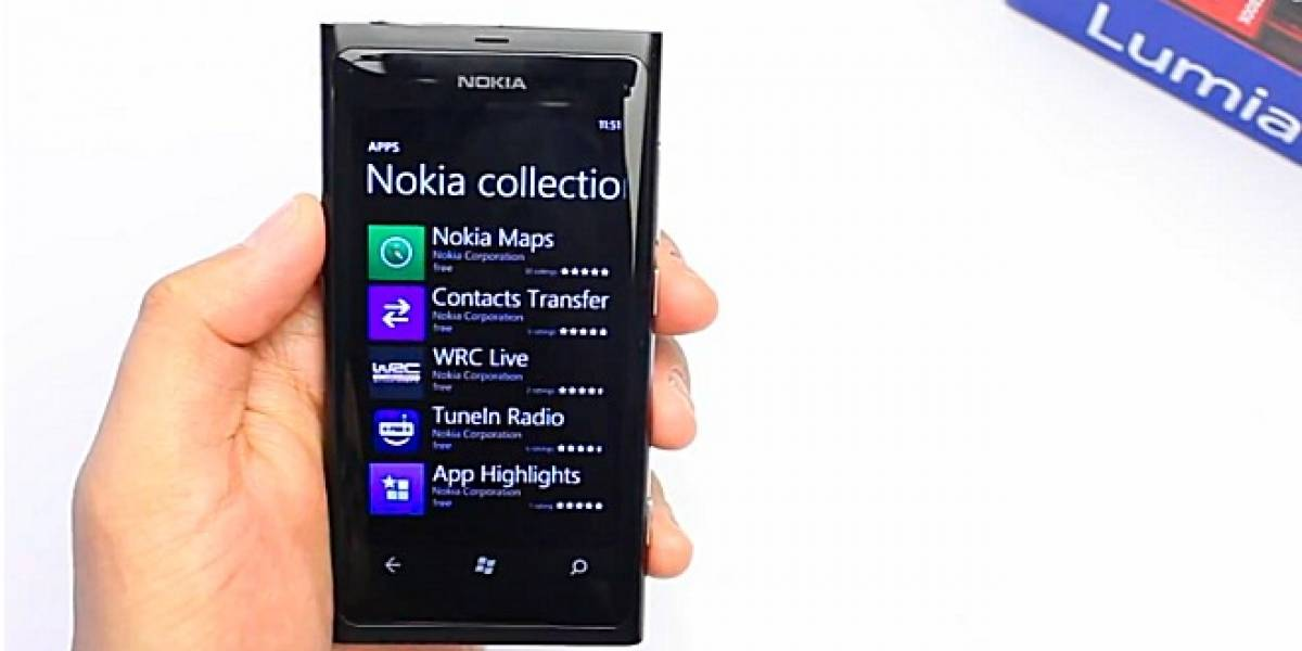 Nokia Collection: Aplicaciones exclusivas dentro de Windows Phone Marketplace