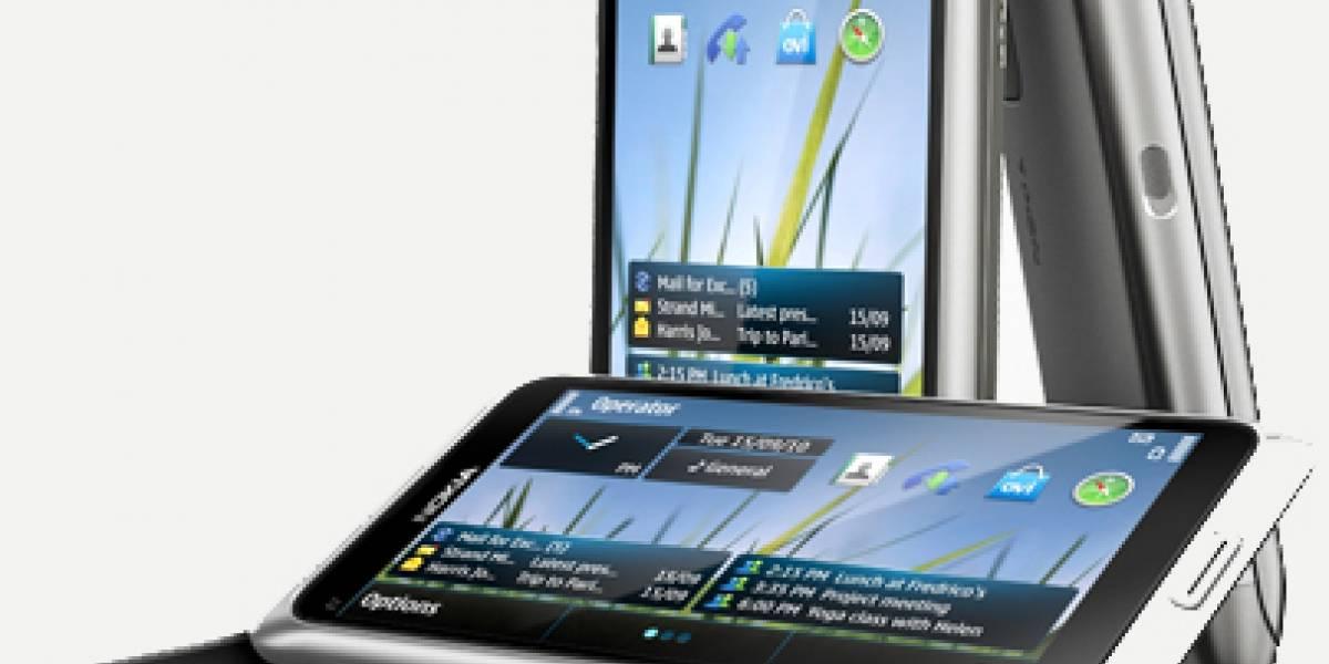 Nokia lanza preventa del E7 en Finlandia