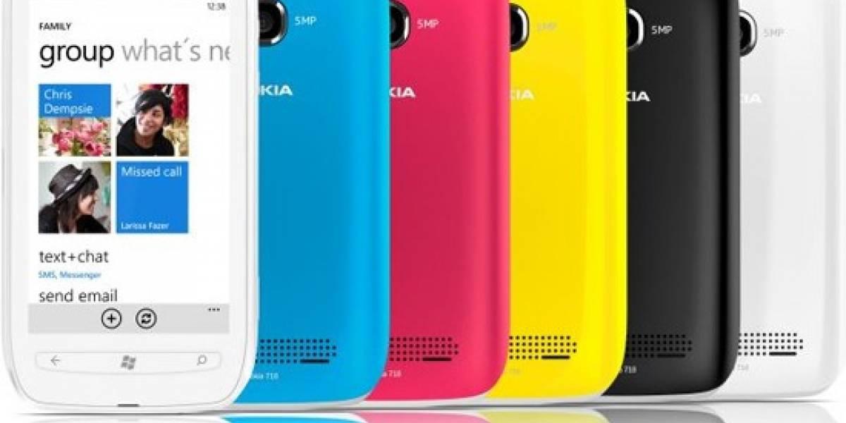 Nokia Lumia 710 a la venta hoy en el Reino Unido