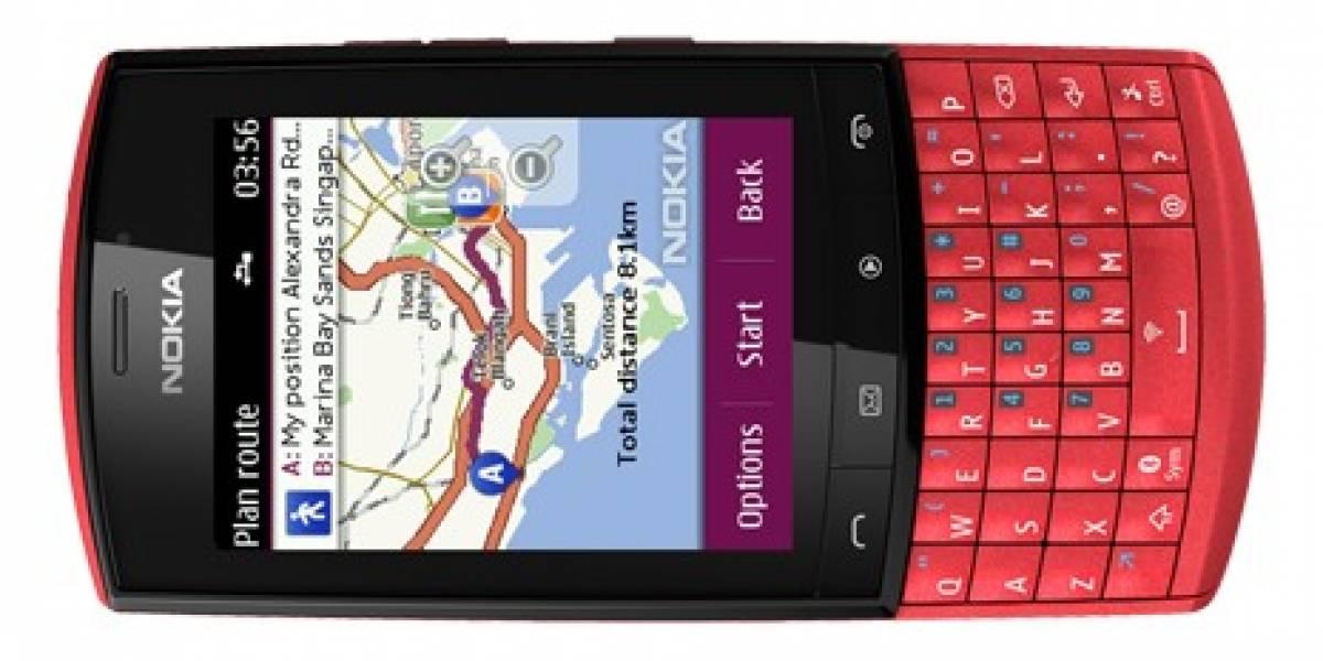 Ahora los equipos con S40 tienen Nokia Maps