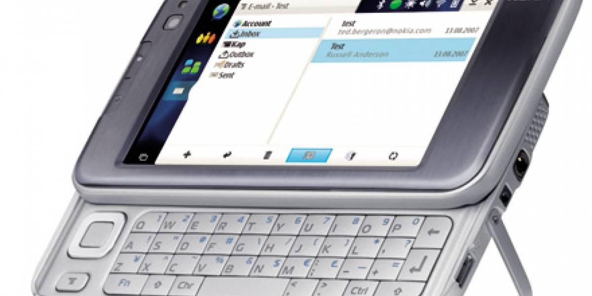 Nokia N810: Un internet tablet con GPS y teclado
