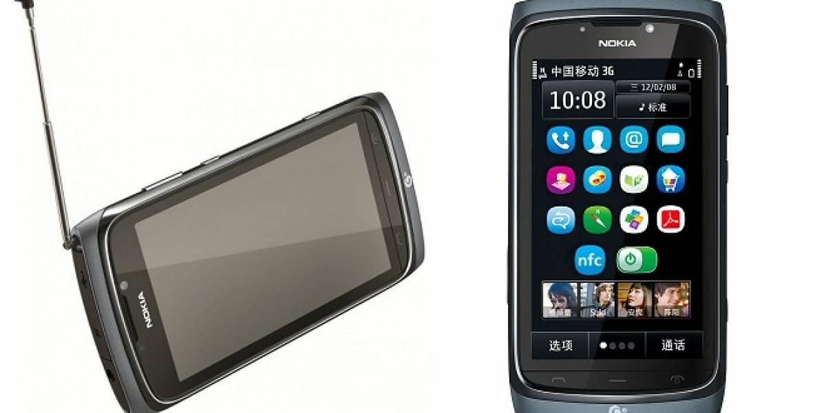 Nokia N801T, un nuevo smartphone de los finlandeses