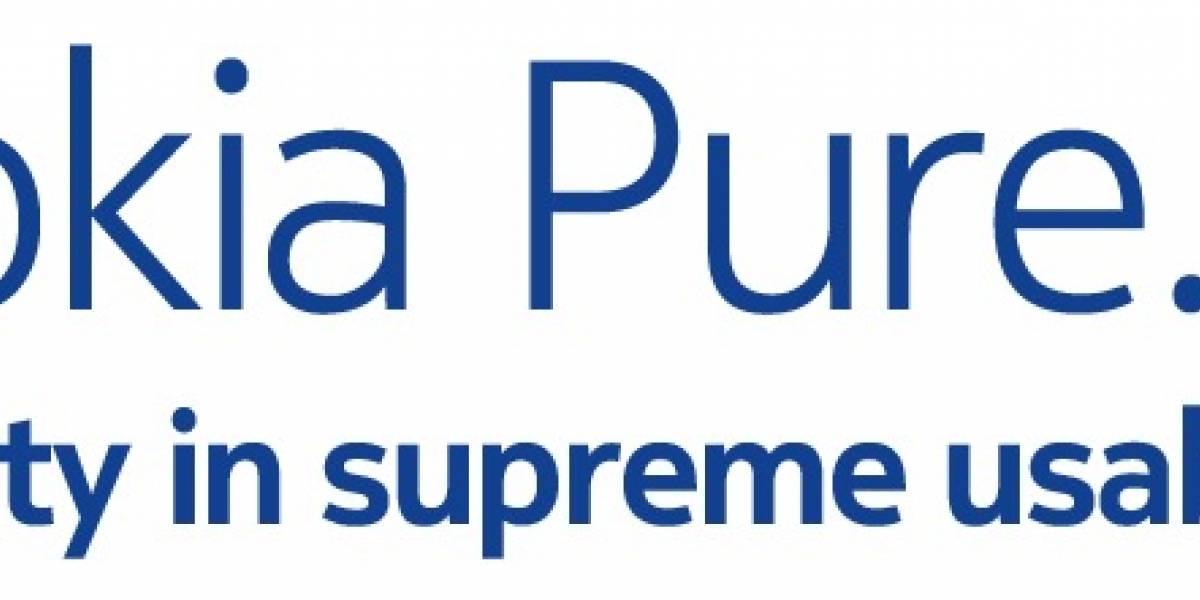 Nokia desecha antigua fuente 'Nokia Sans' y crea 'Nokia Pure'