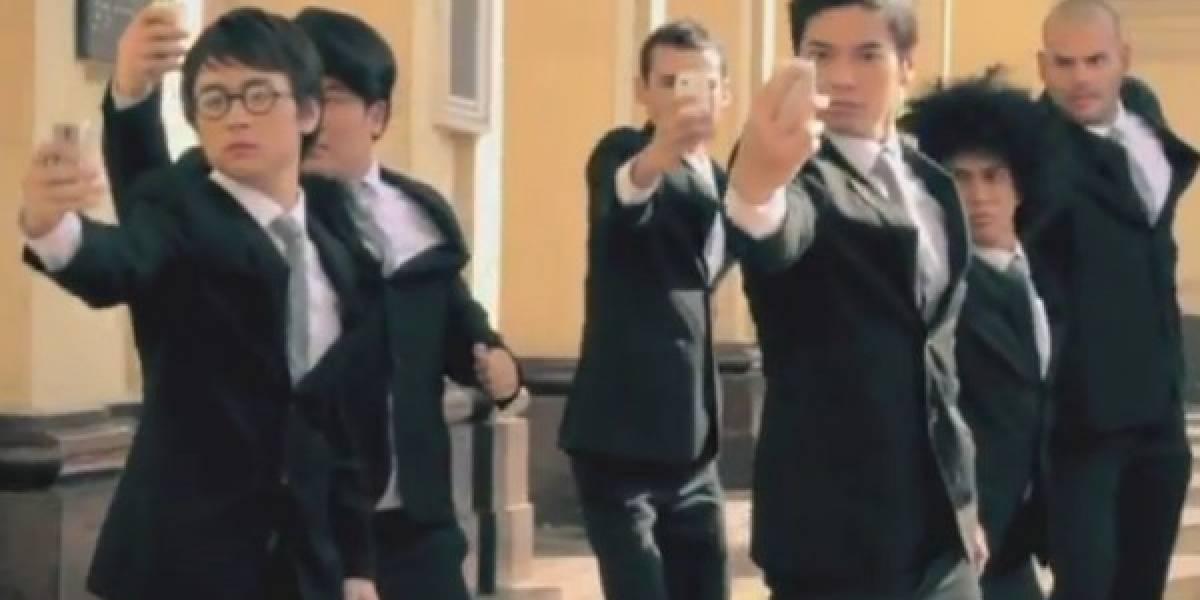 El comercial del Asha 302 para la TV de Filipinas