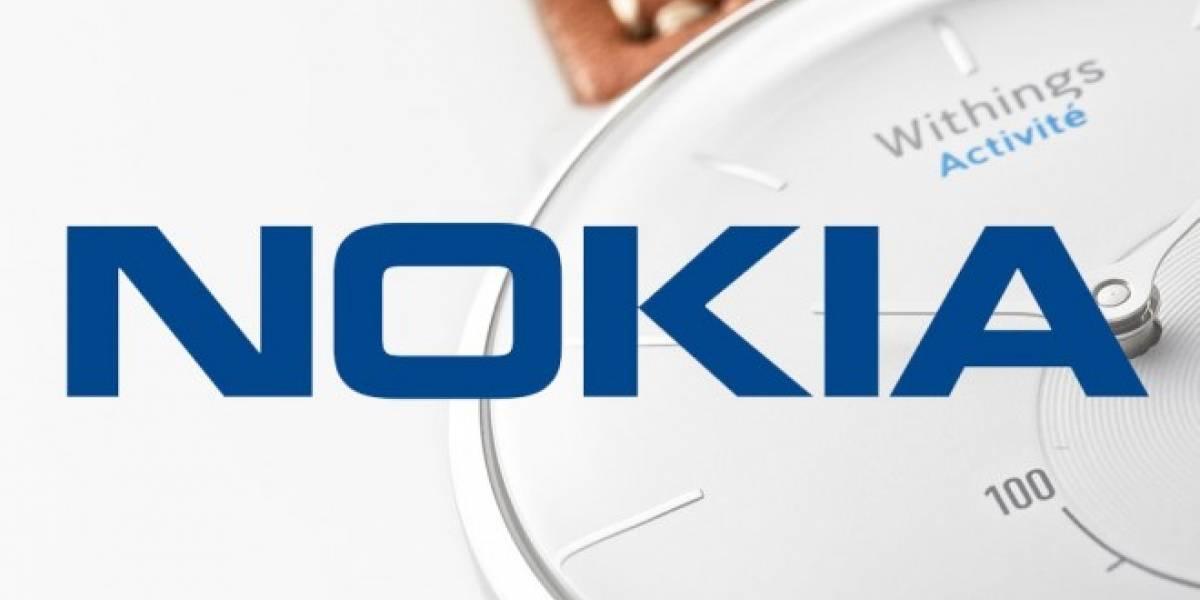 Nokia compra Withings y entra de lleno a los vestibles