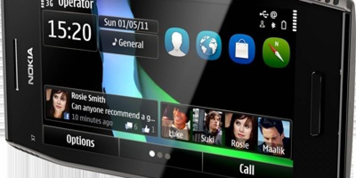 Nokia X7, el primero con Symbian Anna, a la venta en España