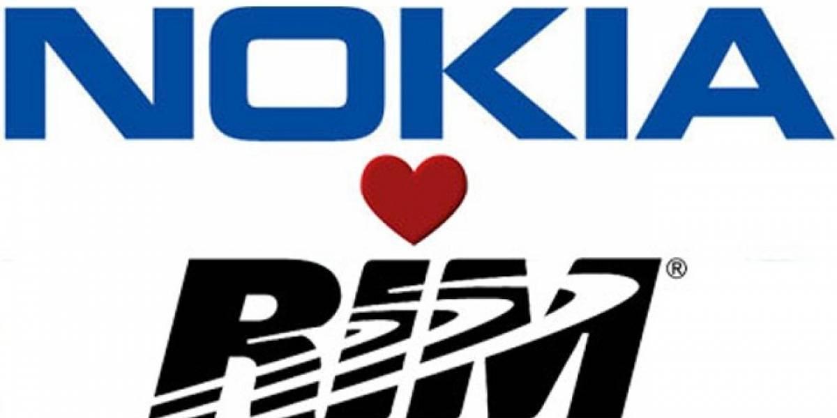 Nokia y RIM llegan a un acuerdo amigable por disputa de patentes