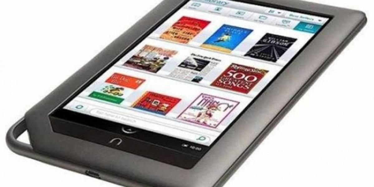 Barnes & Noble anuncia lector electrónico para el 24 de mayo