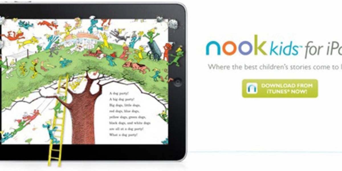 CES 2011: Nook Kids de Barnes & Noble llega al iPad e iPhone